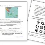 Learning About Islam   Free Worksheets And Resources For Kids | World History Printable Worksheets