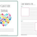 Let's Choose To Be Grateful! Free Printable 31 Day Gratitude Journal | Free Printable Gratitude Worksheets