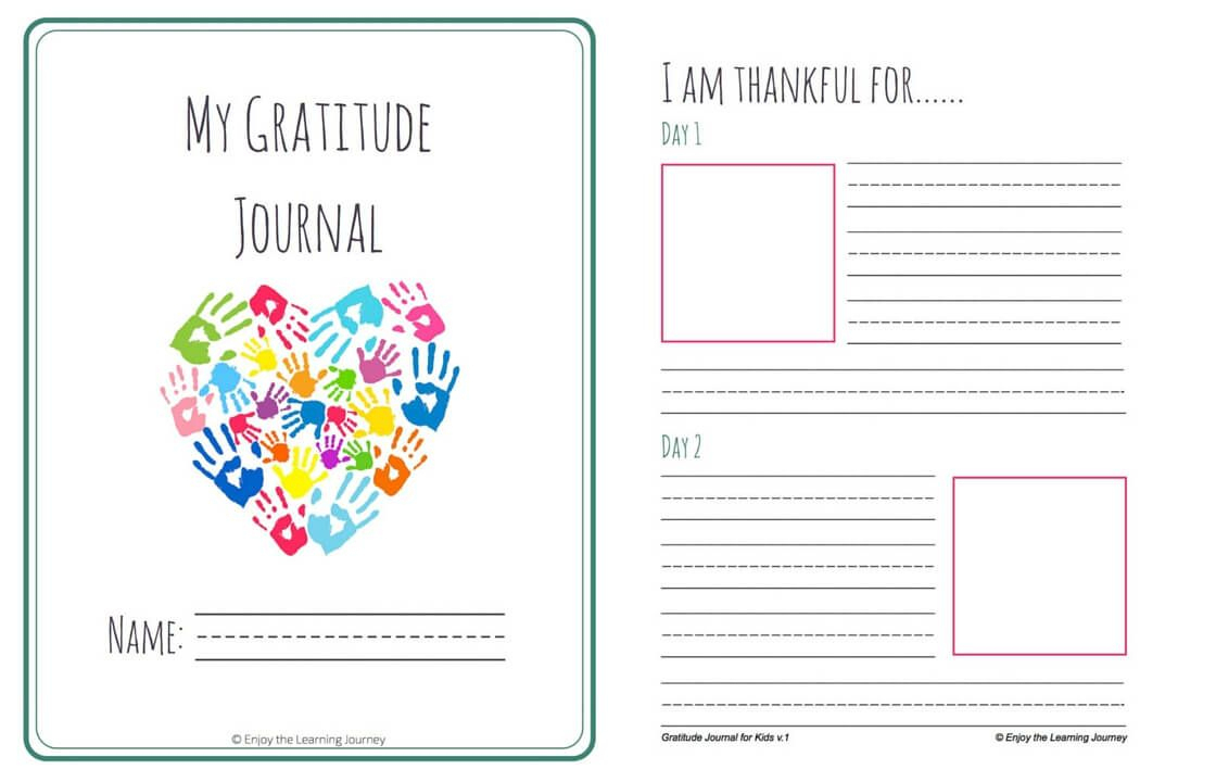 Let's Choose To Be Grateful! Free Printable 31-Day Gratitude Journal | Free Printable Gratitude Worksheets