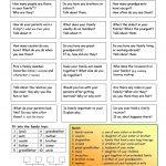 Let's Talk About Family Worksheet   Free Esl Printable Worksheets | Free Printable English Conversation Worksheets