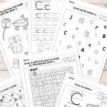 Letter C Worksheets   Alphabet Series   Easy Peasy Learners   Letter C Printable Worksheets