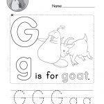 Letter G Alphabet Activity Worksheet   Doozy Moo | Letter G Printable Worksheets