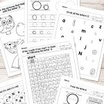 Letter O Worksheets   Alphabet Series   Easy Peasy Learners | Letter O Printable Worksheets