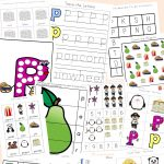 Letter P Worksheets + Printables   Fun With Mama | Free Printable Letter P Worksheets