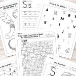 Letter S Worksheets   Alphabet Series   Easy Peasy Learners | Free Printable Letter Worksheets