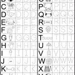 Letter Tracing Worksheet | Printable Worksheets   Free Printable | Free Printable Alphabet Worksheets For Grade 1
