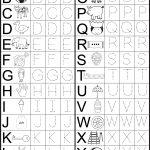 Letter Tracing Worksheet | Printable Worksheets | Kindergarten | Tracing Worksheets For 3 Year Olds Printable