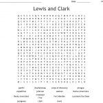 Lewis And Clark Word Search   Wordmint   Lewis And Clark Printable Worksheets