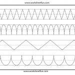 Line Tracing | Tracing | Kindergarten Worksheets, Free Worksheets | Tracing Worksheets For 3 Year Olds Printable