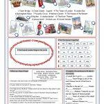 London Tour Vocabulary Exercises Worksheet   Free Esl Printable | London Worksheets Printable