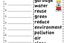 Printable Abc Order Worksheets