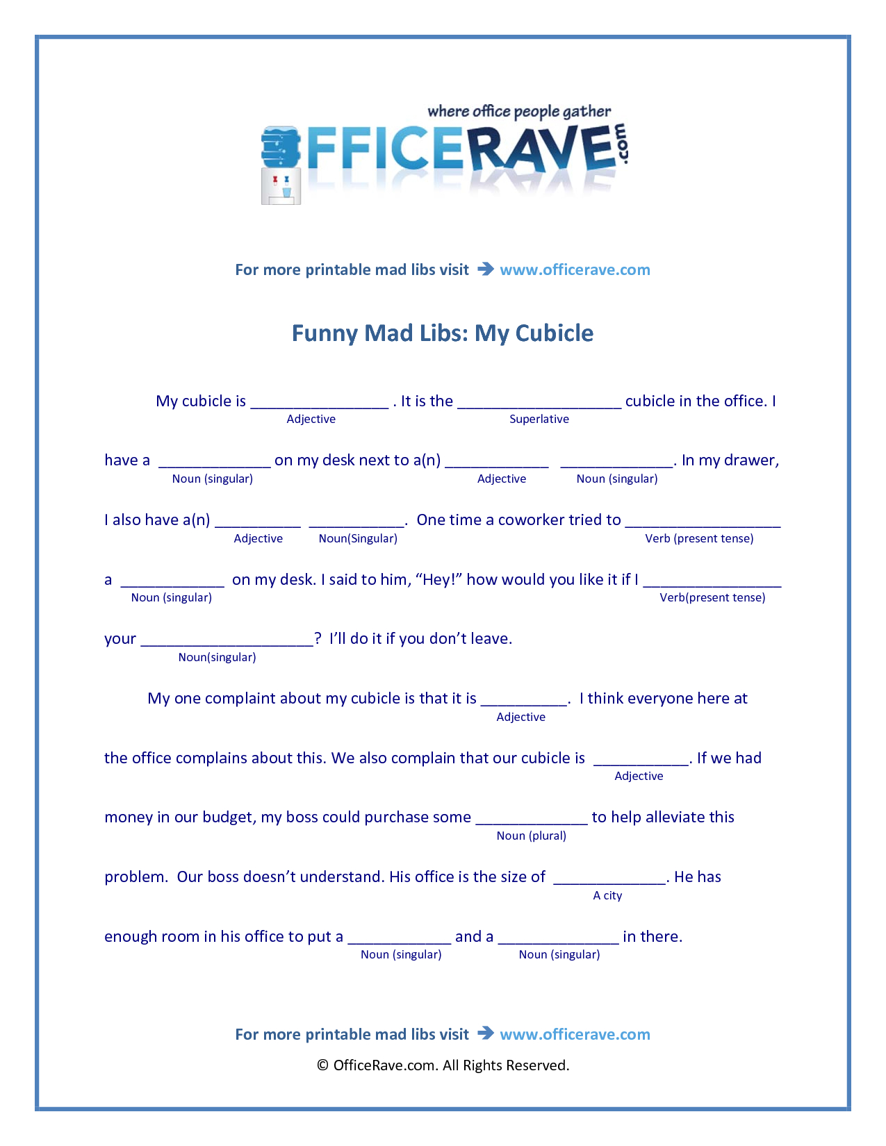 Mad Libs Printable | Free Printable Mad Libs | Funny | Baby Shower | Funny Mad Libs Printable Worksheets