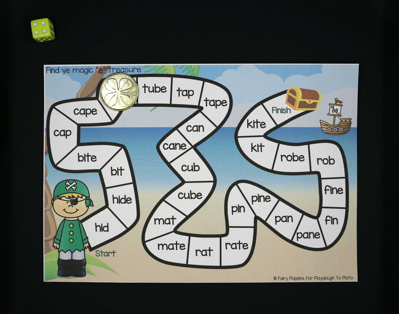 Magic E Activities - Playdough To Plato | Silent E Printable Worksheets