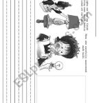 Making Predictions With Amelia Bedelia   Esl Worksheethandfulofgerms | Amelia Bedelia Printable Worksheets