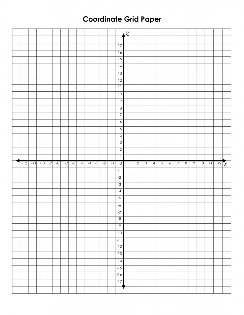 Math : Best Photos Of 4 Coordinate Grids With Numbers Grid Math | Printable Grids Worksheets