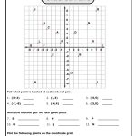Math Coordinates Worksheets Worksheets For Coordinate Grid And | Printable Coordinate Plane Worksheets