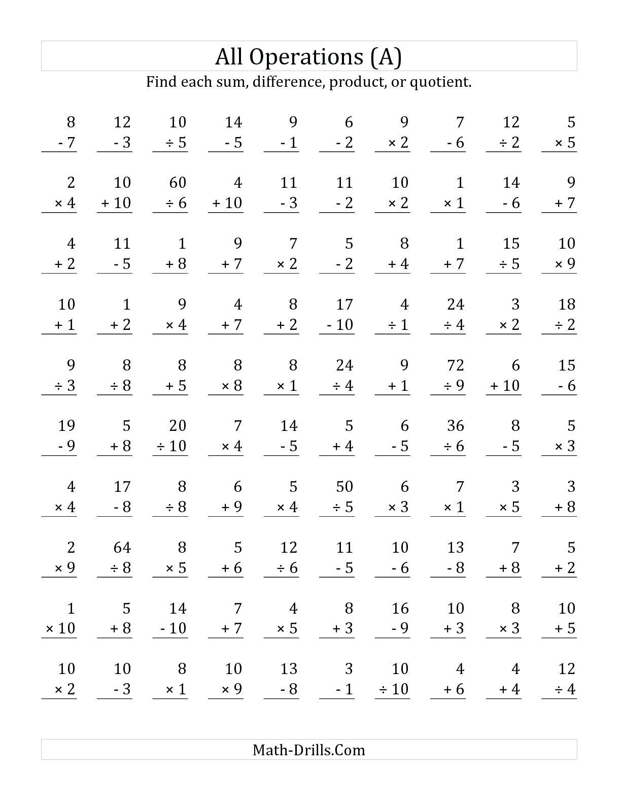 Math Worksheet: Free Colornumber Worksheets Printable Math | Touchpoint Math Worksheets Printable