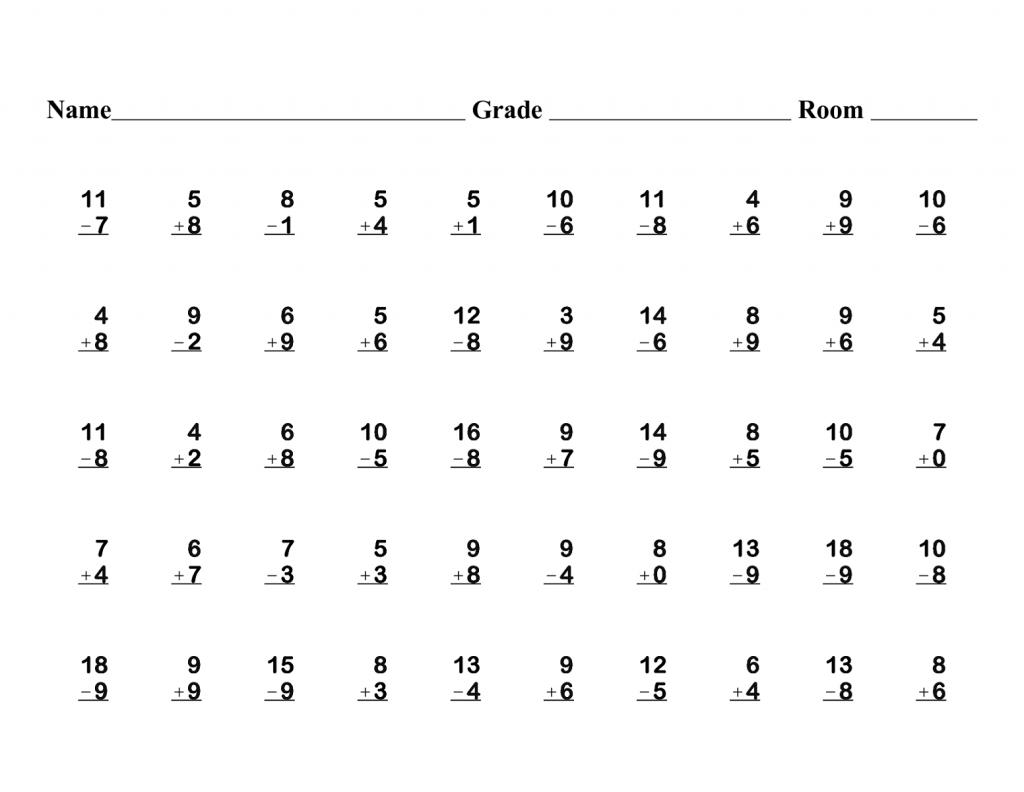Math Worksheet: Free First Grade Math Worksheets. 3Rd Grade Math   First Grade Math Worksheets Printable