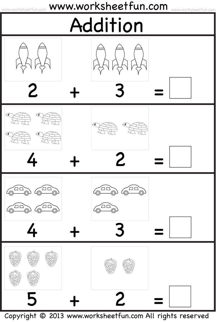 Math Worksheet: Free Printable Addition Worksheets For 2Nd Grade | Free Printable Worksheets On Africa