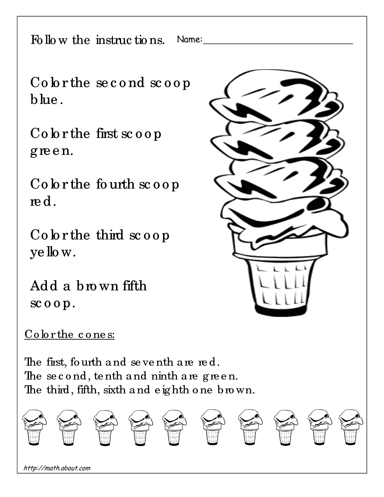 Math Worksheets For 3Rd Graders | 1St Grade Printable Worksheets For | 3Rd Grade Printable Worksheets