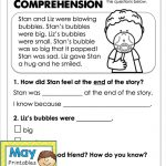 May Printables   First Grade Literacy And Math | Reading | Reading | 1St Grade Reading Comprehension Worksheets Printable