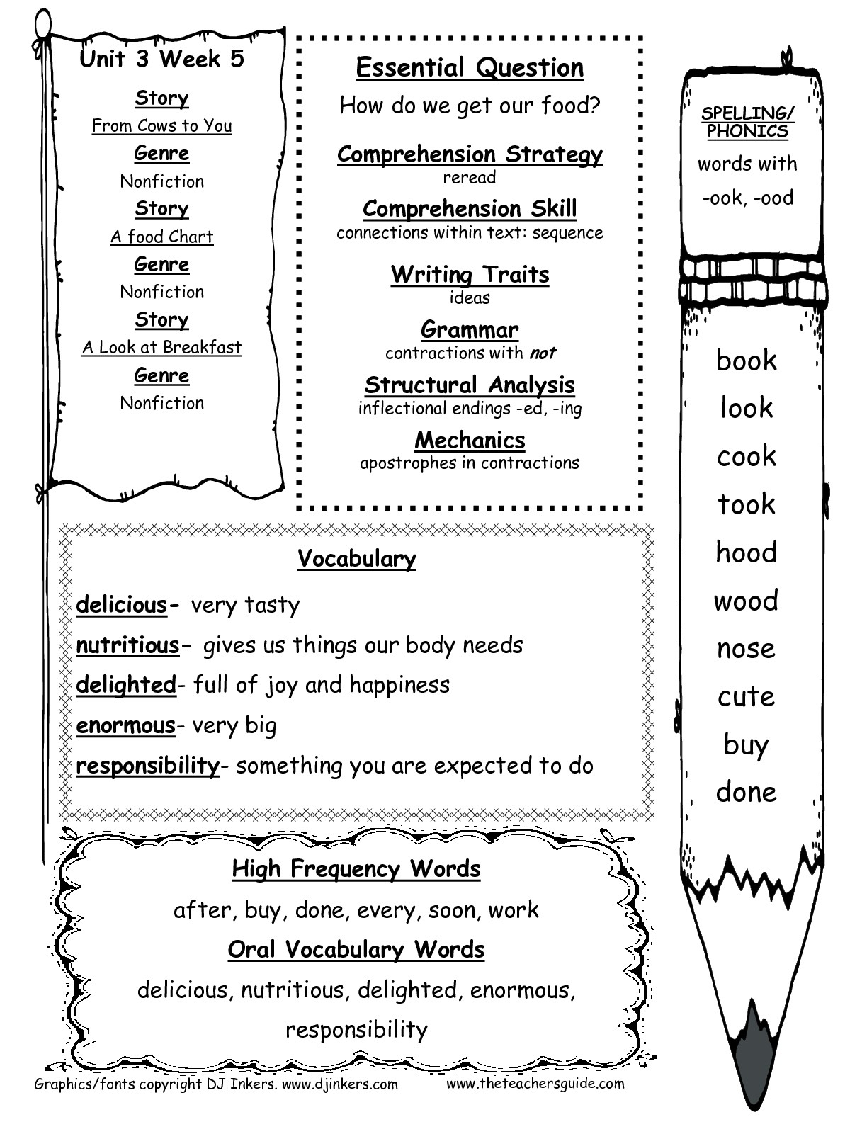 Mcgraw-Hill Wonders First Grade Resources And Printouts - Free | Free Printable Digraph Worksheets For First Grade