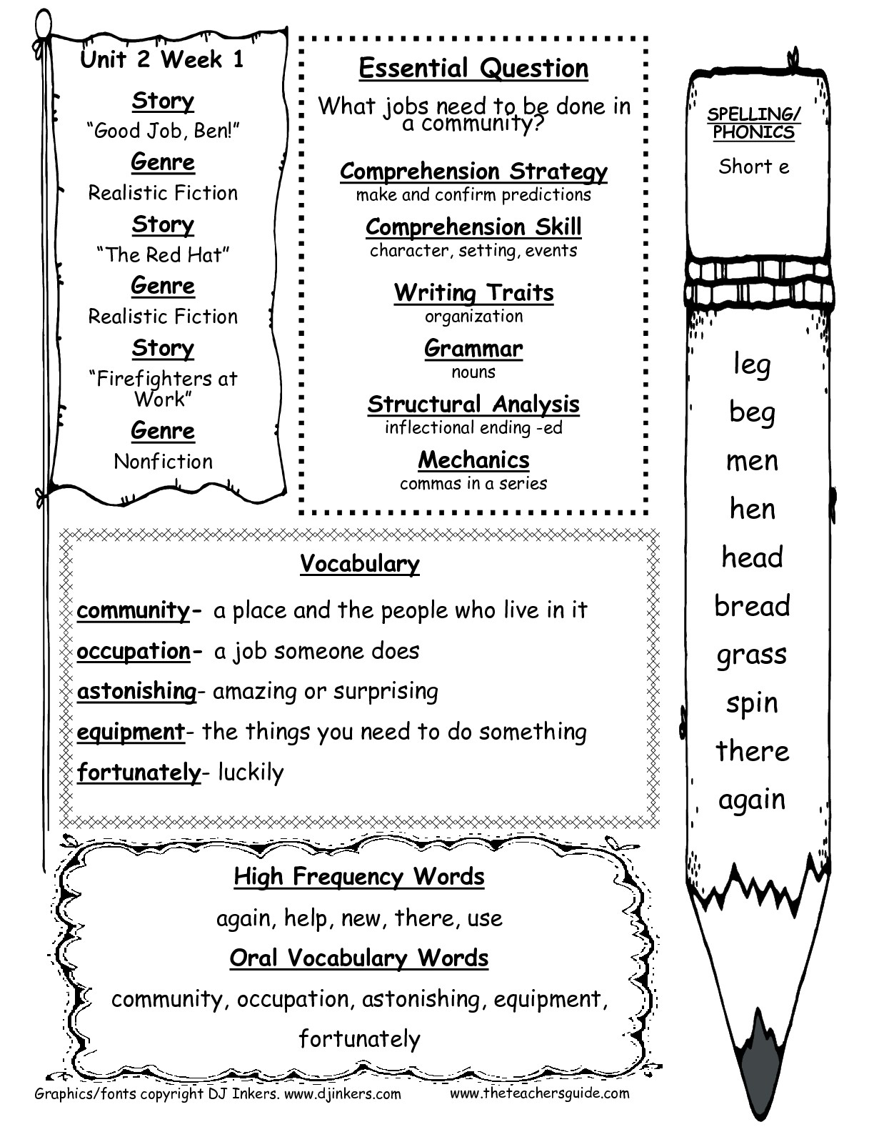 Mcgraw-Hill Wonders First Grade Resources And Printouts | Free Printable English Worksheets For 1St Grade