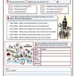 Melissa's Trip To London Worksheet   Free Esl Printable Worksheets | London Worksheets Printable