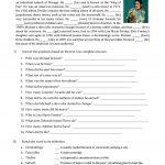 Michael Jackson Biography Worksheet   Free Esl Printable Worksheets | Printable Biography Worksheets