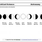 Moon Phases Worksheet Printable   Study The Moon Cycle With Our   Phases Of The Moon Printable Worksheets