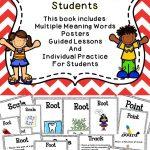 Multiple Meaning Words | 2Nd Grade // Ela | Multiple Meaning Words | Free Printable Multiple Meaning Words Worksheets