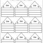 Multiplication & Division Fact Family Practice Pack   חשבון   Fact   Free Printable Multiplication Division Fact Family Worksheets