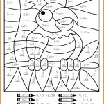 Multiplication Worksheets | Educational Coloring Pages | Math | Free Printable Math Coloring Worksheets For 2Nd Grade