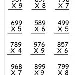 Multiplication Worksheets For 5Th Grade | Worksheetfun   Free | Fifth Grade Printable Worksheets