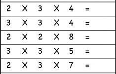 Multiplication Worksheets Ks2 Printable
