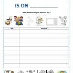 My Favourite Day Worksheet   Free Esl Printable Worksheets Made | Free Printable Number Of The Day Worksheets