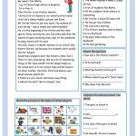 My Favourite Teacher Worksheet   Free Esl Printable Worksheets Made | Teacher Printable Worksheets