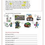 My Favourite Things . Worksheet   Free Esl Printable Worksheets | Archery Printable Worksheets