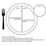 My Plate Worksheet For Health | Dmproject | Group Meals, Preschool | Choose My Plate Printable Worksheets