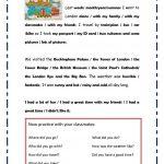 My Trip To London Worksheet   Free Esl Printable Worksheets Made | London Worksheets Printable