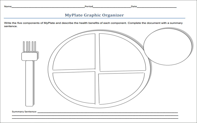 Myplate Gov Worksheet Images - Kindergarten Preschool Worksheet | Choose My Plate Printable Worksheets