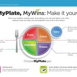 Myplate Klist Template Samples Mywins Make It Yours Mini Poster | Choose My Plate Printable Worksheets
