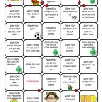 Name Four Things Board Game Worksheet   Free Esl Printable | Printable Barrier Games Worksheets
