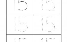 Printable Number Tracing Worksheets For Kindergarten