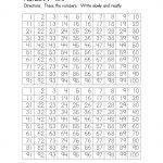 Number Worksheets 1 100 Printable   Activity Shelter   Numbers 1 100 Printable Worksheets