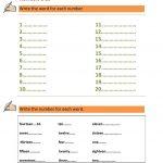 Numbers 1 100   Esl   Numbers 1 100, 1St Grade Worksheets, Worksheets   Numbers 1 100 Printable Worksheets