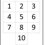 Numbers 1 Through 10   Karis.sticken.co | Printable Worksheets For Preschoolers On Numbers 1 10