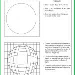 Optical Illusion Bulge | Class | Art Worksheets, Art, Illusion Art | Optical Illusion Worksheets Printable