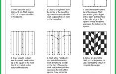 Optical Illusions Grid | Seton Hall In 2019 | Art Worksheets, Op Art | Optical Illusion Worksheets Printable