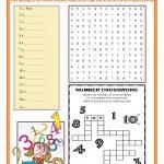 Ordinal And Cardinal Numbers Worksheet   Free Esl Printable | Qu Worksheets Printable